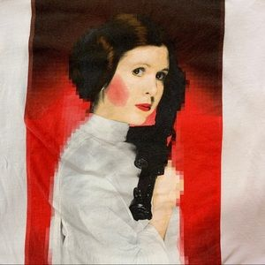 Men's Star Wars Princess Leia tee